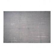 Miliboo Tapis vert-gris acrylique et coton 155x230 USED