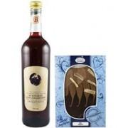 Vin de Coacaze Negre 9%alc. si Ciocolata 750ml si 150gr Bavaria
