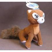 "Barbie Island Princess Sagi (Red Panda) 5"" Plush Figure (2007)"