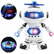 Musical Dancing Robot with 3D Lights Multi Color