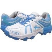 Vector X Target Cricket shoe Size 7 Cricket Shoes For Men(White, Blue)