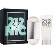 Carolina Herrera 212 NYC lote de regalo XIV. eau de toilette 100 ml + leche corporal 100 ml