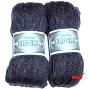 Vardhman Microshine Mouse Grey 400 gm hand knitting Soft Acrylic yarn wool thread for Art & craft Crochet and needle