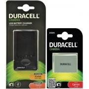 Duracell Laddare & Digitalkamera Batteri Kit Canon (LP-E8)
