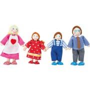 Dřevěné panenky rodina