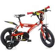 Kinderfiets Dino Bikes Pro-Cross red 16 inch