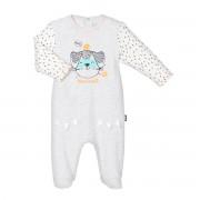 Petit Béguin Pyjama bébé Mini Bandit - Taille - 3 mois
