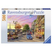 Ravensburger puzzle o seara in paris 500 piese