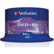 DVD+R Verbatim Matt Silver 120min./4,7Gb 16X - 50 бр. в шпиндел