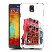 Husa Samsung Galaxy Note 3 N9000 Slim Model Old Town Bar