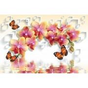 Fototapet Decorativ Creative Decor Cerneala Ecologica 200 x 300 cm Model 3D27