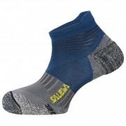 Salewa Approach Edge N Socks Calze casual (35-37, blu/grigio/nero)
