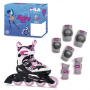 Role copii FILA J-One 2 Set Combo G Black/White/Magenta
