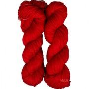 Vardhman Brilon Red 300 gm hand knitting Soft Acrylic yarn wool thread for Art & craft Crochet and needle