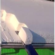 Axis24 GmbH Schneeräumer Dach Schneerutsche für große Mengen Schnee