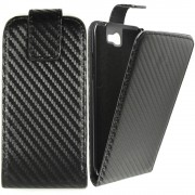 Калъф тип тефтер Carbon за LG P700 Optimus L7