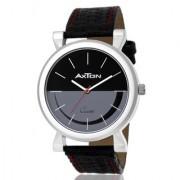 IDIVAS 7 Quartz Analog BLACK Grey Round Dial Men's Boy's Watch AXG-0028