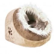 Trixie Pelíšek (trixie) koule Minou hnědá - 41x30x50cm
