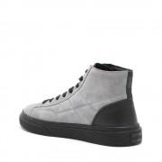 Hogan Sneakers alte da uomo grigie