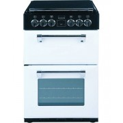 Stoves Richmond MiniRange 550E Icy Brook Ceramic Electric Cooker with Double Oven - White