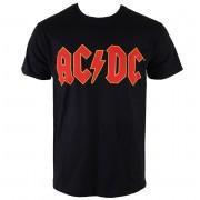 tricou stil metal bărbați AC-DC - Logo - ROCK OFF - ACDCTS02MB