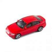 Welly BMW 335i piros kisautó, 1:43