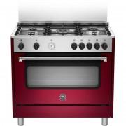 La Germania Ams95c61cvi Cucina 90x60 5 Fuochi A Gas Forno Elettrico 85 Litri Cla