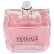Bright Crystal Eau De Toilette Spray (Tester) By Versace 3 oz Eau De Toilette Spray