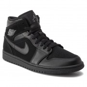 Обувки NIKE - Air Jordan 1 Mid 554724 050 Black/Dark Grey/Black