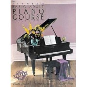 Alfred's Basic Adult Piano Course: Lesson Book Level 1 by Willard A Palmer