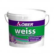 Vopsea lavabila Kober Weiss 15 L,