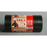 Szemeteszsák, 240 l,10 db, ALUFIX (KHT205)