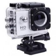 Camera Sport iUni Dare 50i HD 1080P 12M Waterproof Argintiu Bonus Bratara Roca Vulcanica unisex