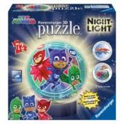 Puzzle 3D Eroi In Pijamale M2.Nu necesita lipici.