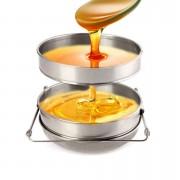 Sita miere din inox cu fund bombat 24 cm