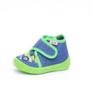 superfit Boys Pantofole Bully auto water - blu - Gr.22