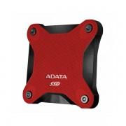 SSD Externi disk ADATA 256GB Red, ASD600 ASD600-256GU31-CRD