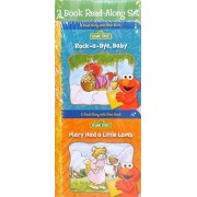 Sesame Street Read Along With Elmo Board Books Rock A Bye Baby And Mary Had A Little Lamb (2 Book Set)