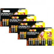 Duracell Plus Power AA Pack von 32 Batterien (BUN0019A)