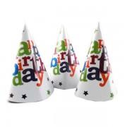Set 6 coifuri Happy Birthday Stelute