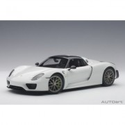 Porsche 918 Spyder Weissach Package 2013 (glossy white) (composite model/full openings) - DARMOWA DOSTAWA!