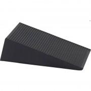 Ben Tools Rubberen deurwig / deurstopper zwart 1.6 cm