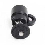 "ELECTROPRIME 360° Ball Head Holder 3/8"" to 1/4"" Screw Thread Mount for DSLR Camera Tripod"