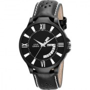 Louis Geneve Classic Day Date Analog Watch For Men ( LG-MW-DB-BLACK-279 )