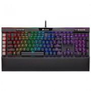 Геймърска клавиатура corsair k95 rgb platinum xt, механична, rgb подсветка, cherry mx speed, us layout, ch-9127414-na
