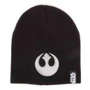 Caciula Meroncourt Unisex Embossed Rebel Logo Beanie Hat