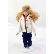 Melody Jane Dolls Houses House Miniature People 1: 12 Scale Modern Porcelain Lady Woman Mother