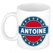 Bellatio Decorations Namen koffiemok / theebeker Antoine 300 ml
