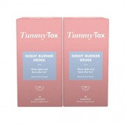 TummyTox Tummy Tox Night Burner Drink. Sabor a lima natural. 2x 10 saquetas