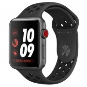 Apple Watch Nike+ Series 3 GPS + 38mm Alumínio Space Grey com Correia Desportiva Nike Antracita/Preto